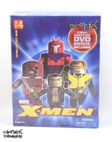 Marvel Minimates darktide Box Set magnéto, WOLVERINE, Cyclope, géant