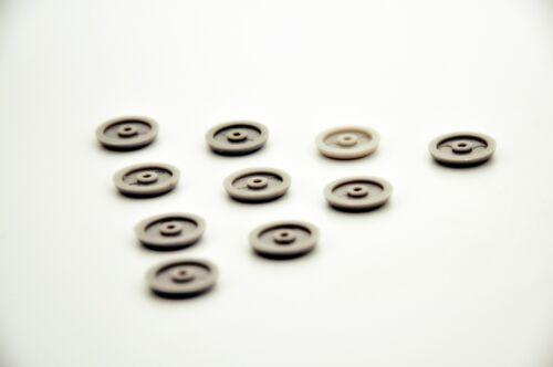 10 PEZZI RENAULT Supporto fibbia della cintura TASTI Porta BORCHIE fissaggio