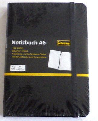 Notizbuch A6 192 Seiten 80g//m2 liniert