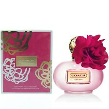 COACH POPPY FREESIA BLOSSOM 3.4 EDP for WOMEN 100ML SPRAY PERFUME NEW RETAIL BOX