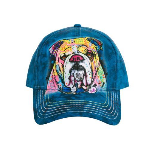 "The Mountain Baseball Cap /""Colourful Bulldog/"""