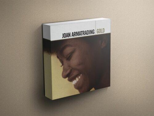 "Joan Armatrading /""Gold/"" Cover Art Canvas Art Print #007747"