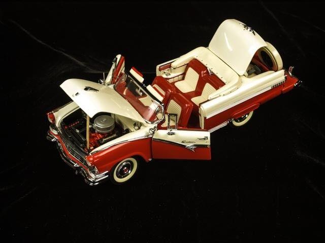 Von minze, 1956 ford fairlane sunliner, druckguss - modell.