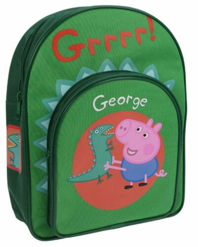 Trade Mark Collections marque PEPPA PIG GEORGE Sac À Dos Enfants Entièrement neuf sous emballage