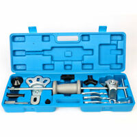17 Pcs 9 Way Steel Slide Hammer Axle / Bearing / Dent / Hub / Gear Puller Set Us