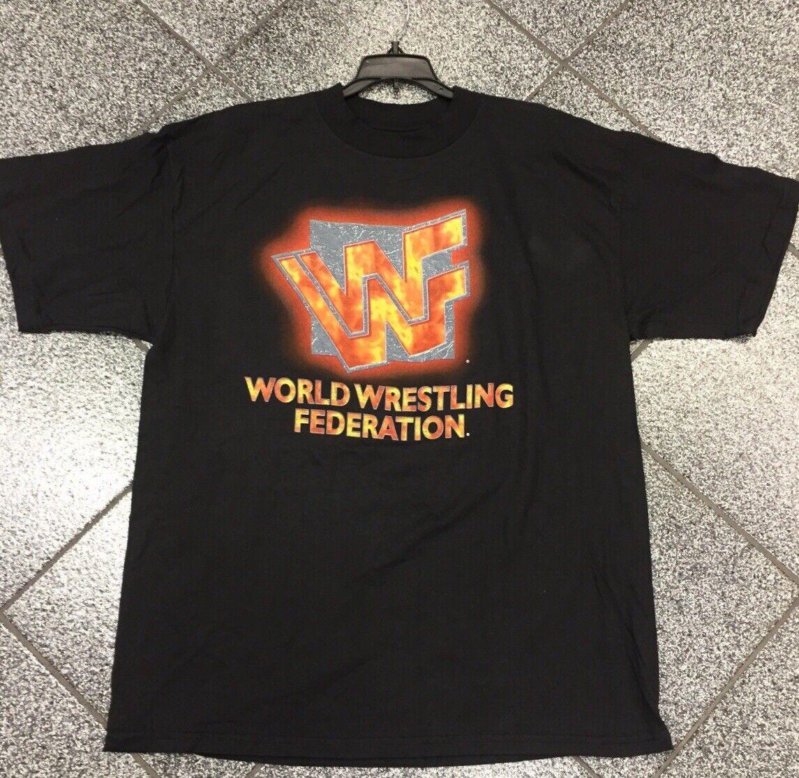 groß 90's 1998 WWF hemd T-hemd Tee Vintage World Wrestling WWE RAW Smackdown