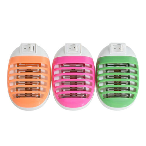 Electric UV Light Mosquito Killer Lamp Home Fly Bug Insect Zapper Trap EU//US JT