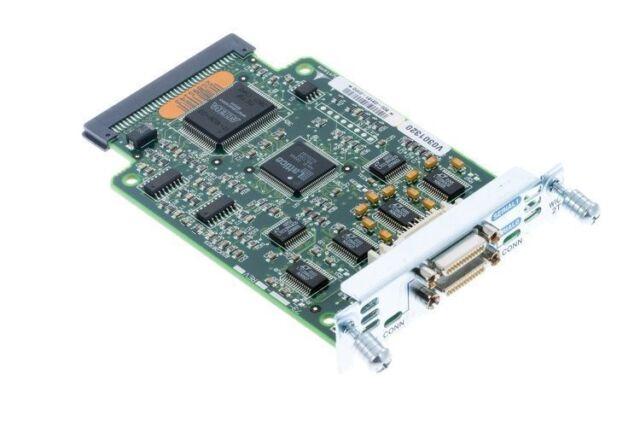 Cisco WIC-2T Serie Wan Módulo Reformado For 1700 2600 1841 2800 3800 Router
