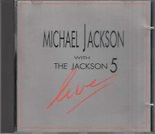 Michael Jackson With The Jackson 5 : Live RARE Austrian CD FASTPOST