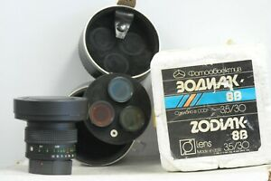 Russian-Zodiak-30mm-F3-5-Ultra-Wide-Lens-with-Case-amp-4x-Filters-for-Kiev-Camera