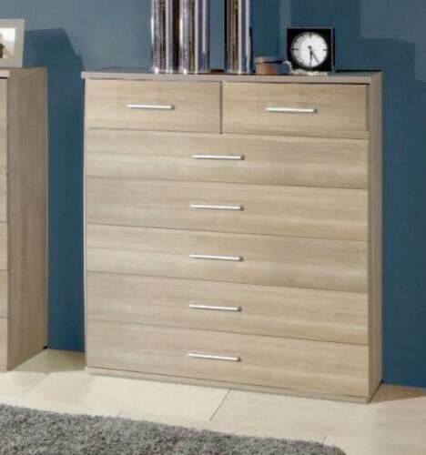 Washed Oak Ambassador Cabinet Range Qmax German Made Bedroom Furniture