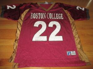 buy online d8b03 e9ea7 Details about Russell DOUG FLUTIE No. 22 BOSTON COLLEGE EAGLES (XL)  Football Jersey