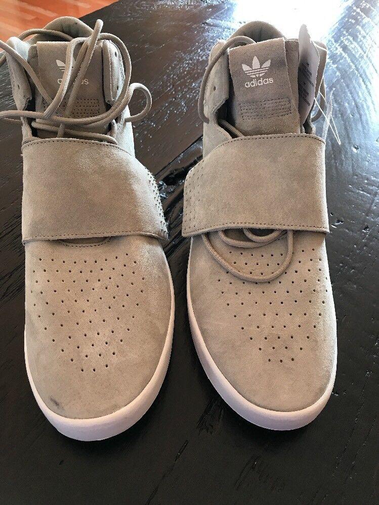 NWT ADIDAS  BB5040 Beige Tubular Mens Sz 11.5 shoes