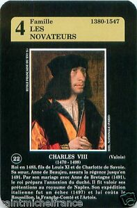 CHARLES-VIII-ROI-FRANCE-PLAYING-CARD-CARTE-A-JOUER