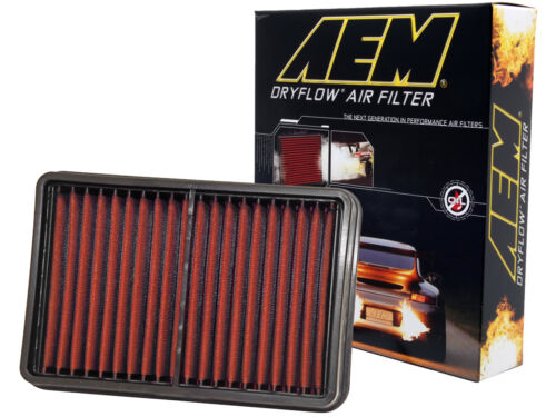 MADE IN USA AEM 28-20392 STOCK REPLACEMENT WASHABLE REUSABLE PANEL AIR FILTER