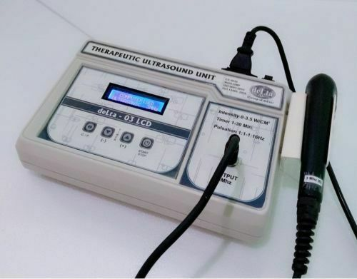 Ultrasound Therapy 3Mhz Therapeutic Physical Pain Relief Delta LCD Unit