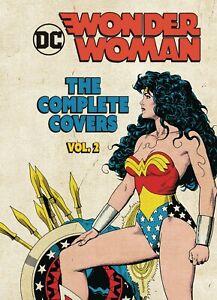 DC COMICS MINI HARDCOVER WONDER WOMAN COMICS THE COMPLETE COVERS VOLUME 2