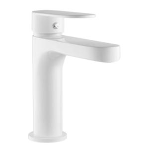 Détails Sur Robinet Mitigeur Lavabo Blanc Dozo Cartouche Céramique Diamètre 35mm Embase 55mm