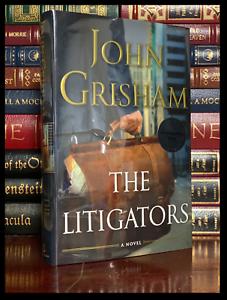 The Litigators ✍SIGNED✍ by JOHN GRISHAM New Hardback 1st Edition First Printing
