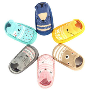 Newborn Baby Girls Kids Toddler Infant Anti Slip Shoes Boys Slipper Floor Socks