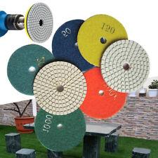 Diamond Polishing Pads Wetdry 20 Piece Set For Granite Stone Concrete Marble