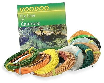 VOODOO Fly Ligne par caimore-Niveau Running Lines for Shooting Heads