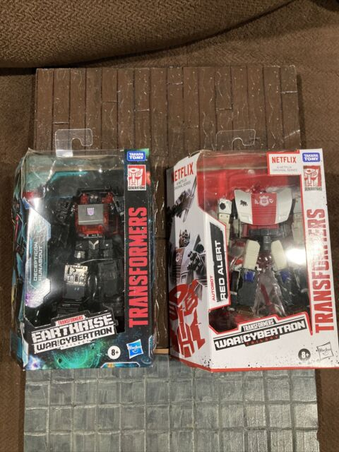 !IN HAND!Transformers Earthrise WFC Runabout / RED ALERT 2 Pack