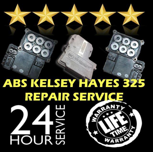 EBCM COMPUTER MODULE REPAIR REBUILD CHEVROLET Kelsey Hayes 325 CHEVY 2500 ABS