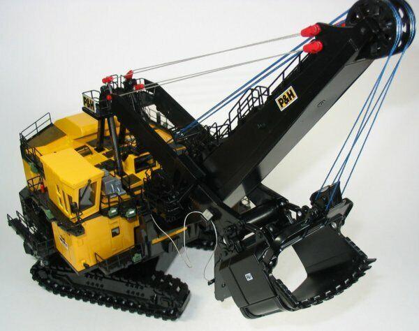 Large High Detail P&H 4100XPB Mining Cable Shovel, Sword TWH NIB