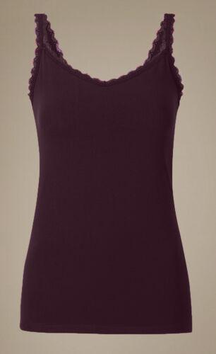 Berry or Almond Sizes 6-12. Ladies Famous Make Soft Touch Cotton Rich Vest
