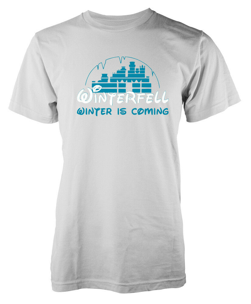 Game Of Thrones Winter Is Coming Winterfell Disney A Shirt Mash Up