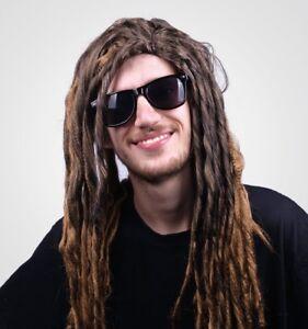 Dreadlocks Wig Brown Man Wig