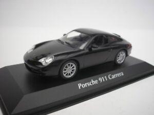 PORSCHE-911-CARRERA-2001-NERO-1-43-maxichamps-940061020-NUOVO
