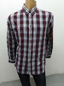 Camicia-CAMEL-ACTIVE-Uomo-taglia-size-XL-shirt-man-chemise-maglia-polo-coton5350