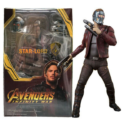 S.H.Figuarts Avengers Infinity War Star-Lord SHF Action Figures KO Version Toy