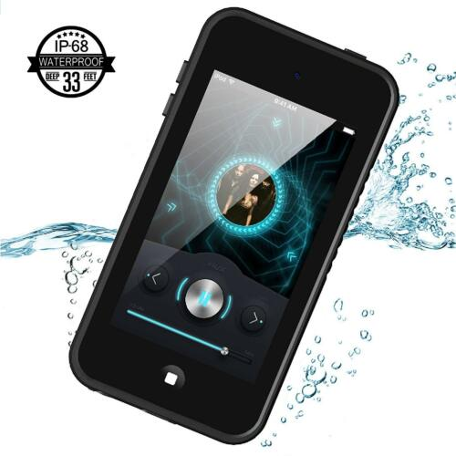 For Apple iPod Touch 5th 6th Generation Waterproof Shockproof Case Cover Black