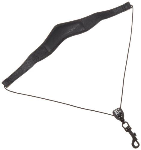 BG SJSH Alto//Tenor Saxophone Jazz Leather Strap with Snap Hook