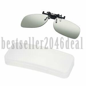 Frauen-Maenner-Blendschutz-Polarisierter-Clip-Auf-Sonnenbrillen-Fahrbrille-UV400