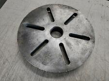 Vintage Metal Lathe 12 Diameter Lathe Face Plate 2 18 Bore 8 Tpi Thread