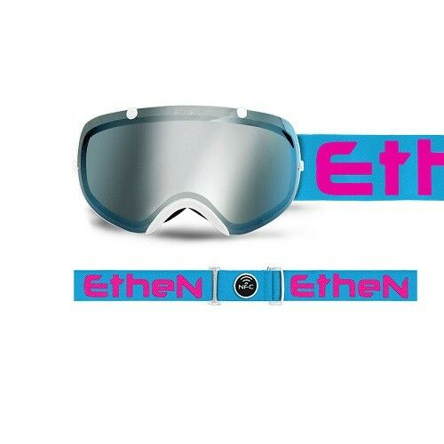 MASK SKI  MASK 03 WHITELIGHT blueEPINK ETHEN SK0305  new style