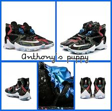 Nike Lebron XIII 13 BHM ~ 828377 910 ~ U.K. Size 9.5 European 44.5