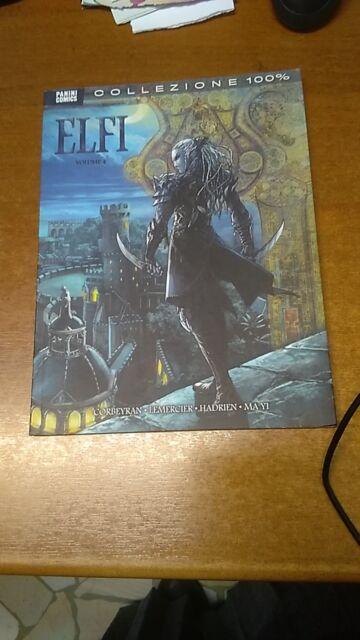 ELFI  VOLUME 4  COLLEZIONE 100%    PANINI COMICS
