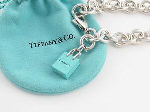 Image Is Loading Tiffany Amp Co Blue Enamel Ping Bag Charm