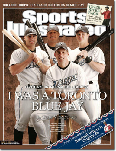 2005 Reed Johnson Toronto Blue Jays Sports Illustrated NO LABEL 1 March 14