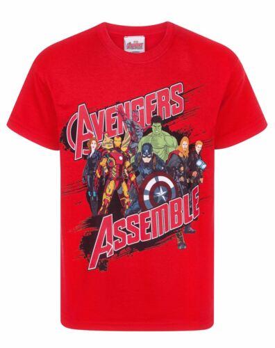 Marvel Avengers Assemble Boy/'s T-Shirt