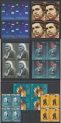 1989-91 & 2000 Sets Blocksx4 Mnh Scv$53+ Modern Techniques 1984j Argentina 1997-98 Sc 1975 1978