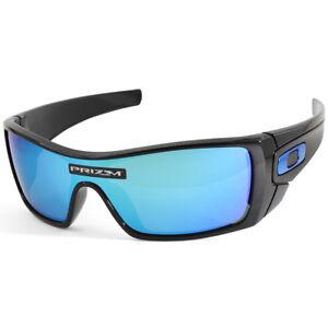 2c0da01830 Oakley Batwolf OO9101-58 Polished Black Blue Prizm Sapphire Men s ...