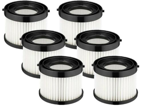 Milwaukee 49-90-0160 6 PK Casa Replacement Filter for 0882-20 M18 Compact Vacuum