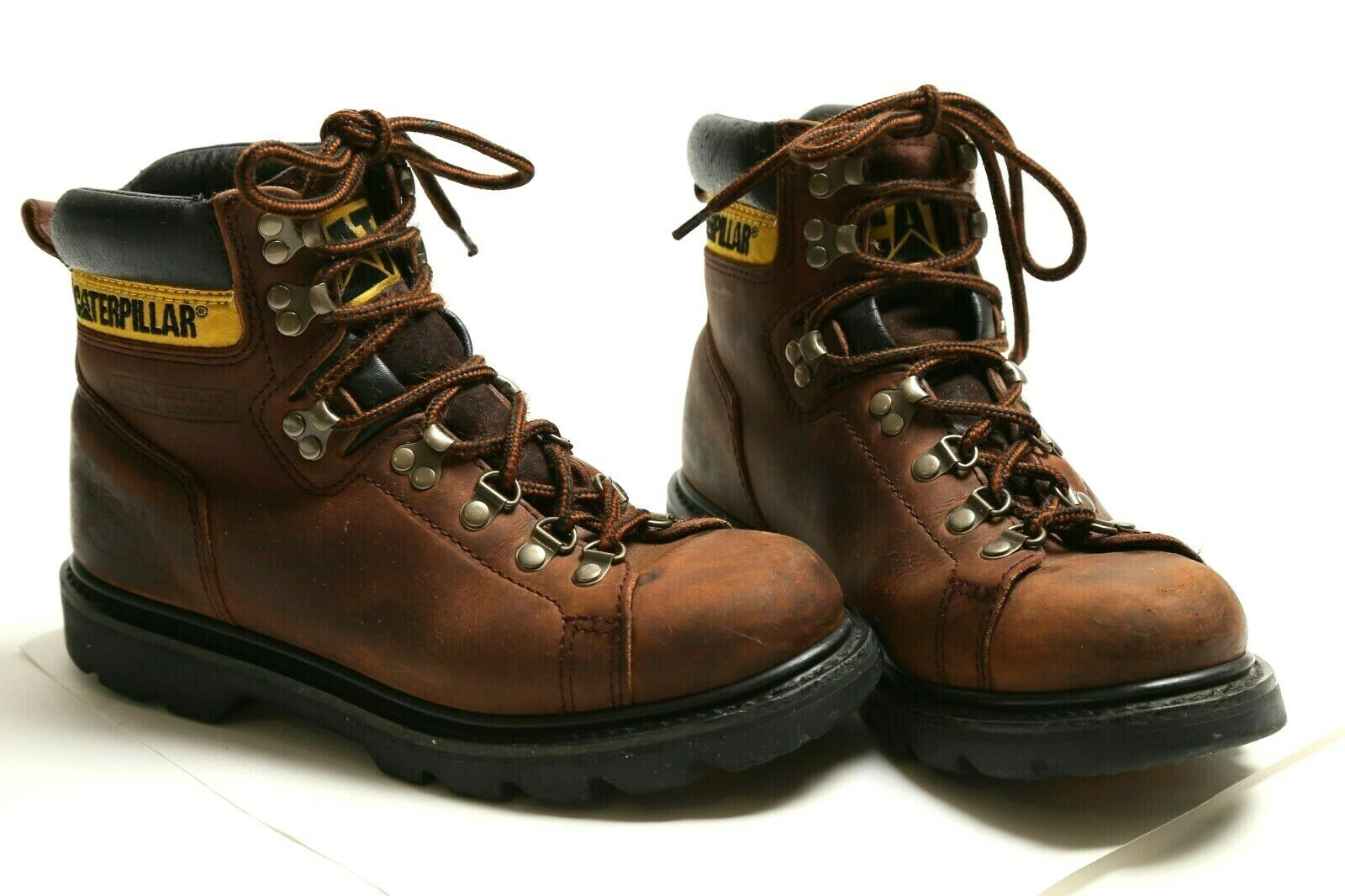 leather upper work boots