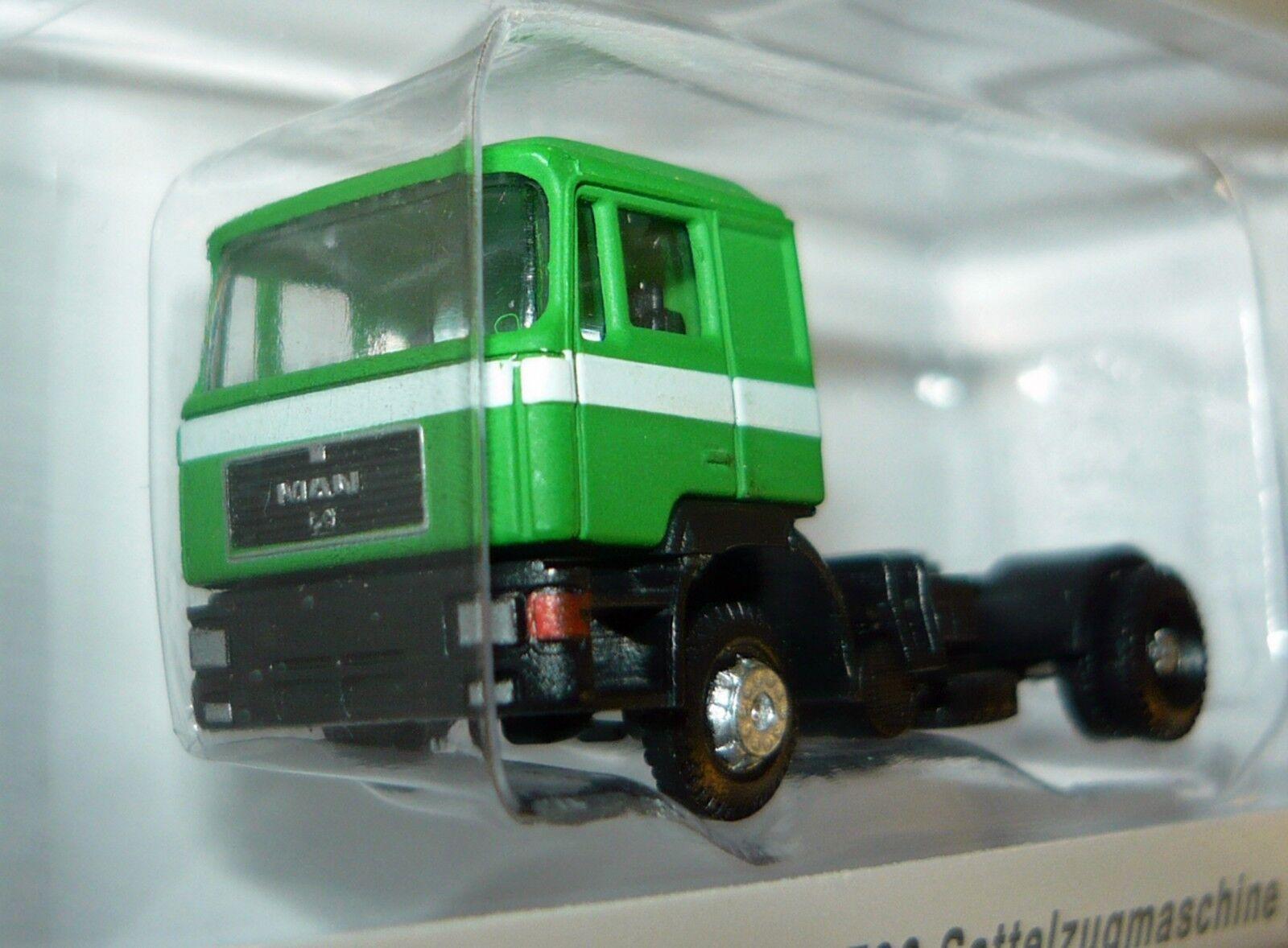 "NEU OVP 11//23 Spur N Lemke Minis LC4058 LKW MAN F90 Sattelzug /""Haribo/"""